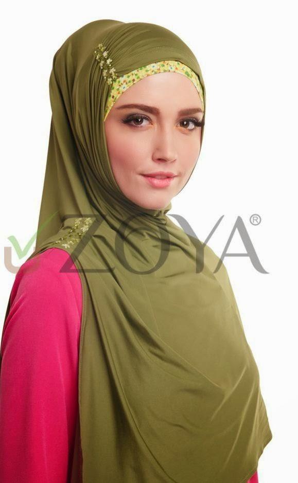 Jual Kerudung Zoya Model Kerudung Terbaru 2014 Bergo Zoya 2014