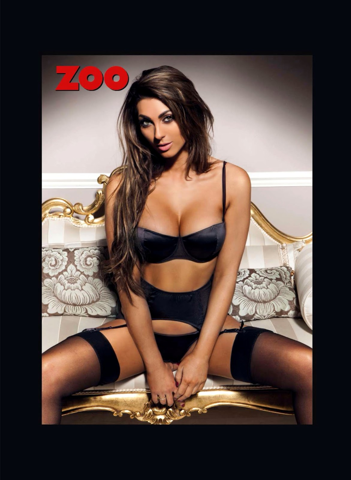 Luisa Zissman HQ Pictures Zoo UK Magazine Photoshoot February 2014