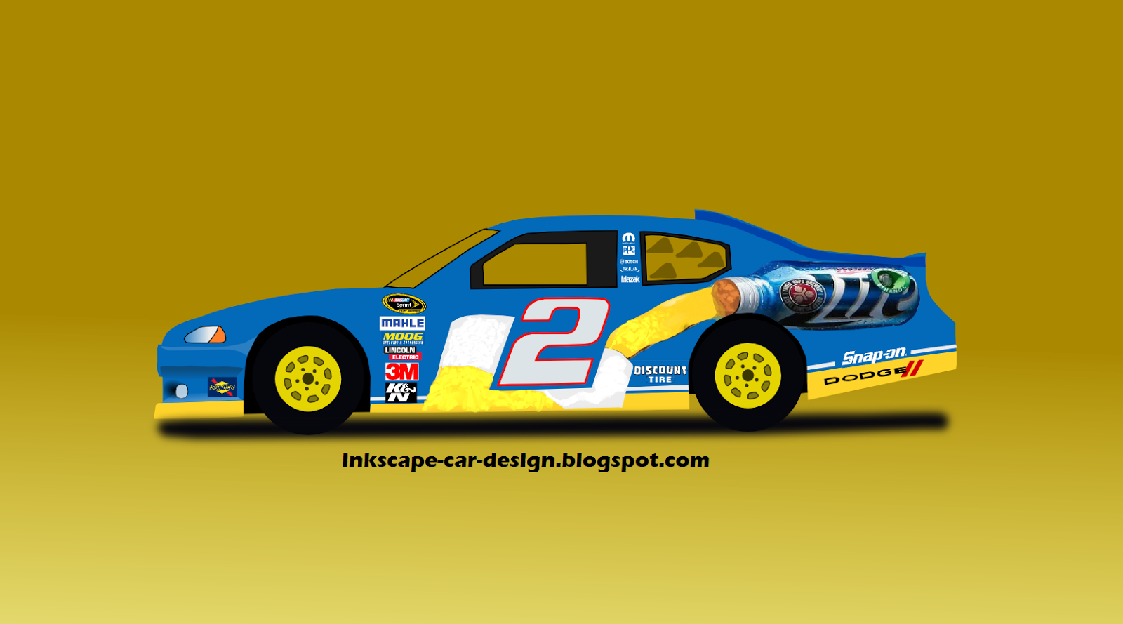 inkscape car design