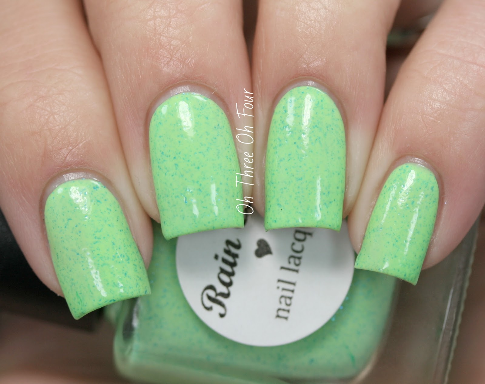 Rain City Lacquer Green Grotto swatch