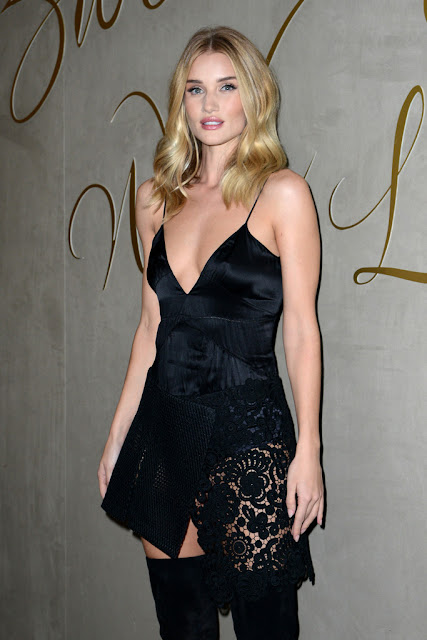 Actress, Model @ Rosie Huntington-Whiteley at Burberry Festive Film Premiere in London