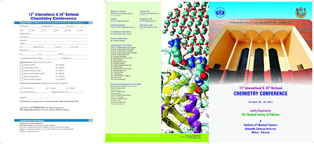 12th International and 24th National Chemistry Conference