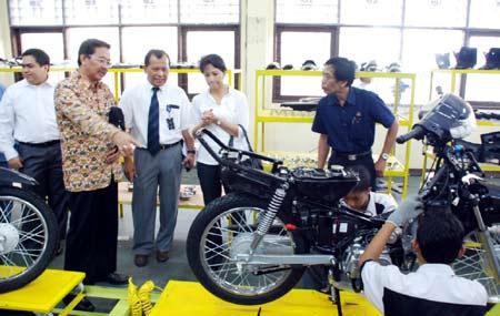 SMK Negeri 4 Jakarta Ciptakan Motor Kanzen
