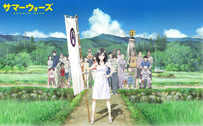 The main cast of Summer Wars