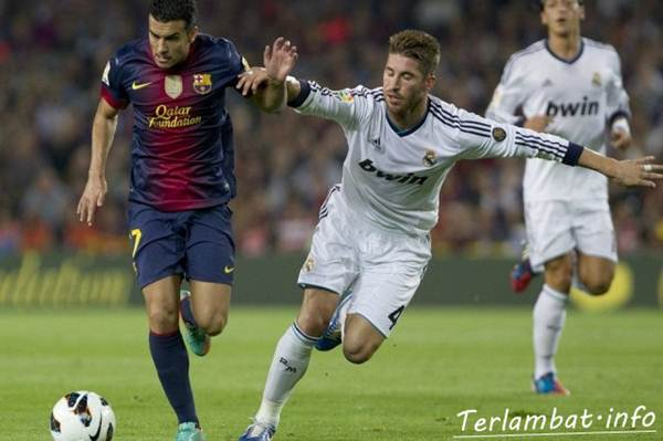 Hasil Pertandingan Barcelona VS Real Madrid 8 Oktober 2012