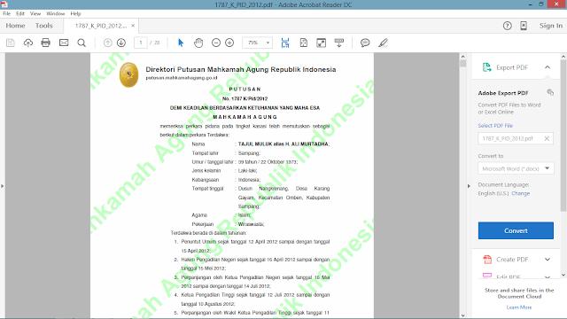 download hasil keputusan mahkamah agung tentang sesatnya ajaran syiah