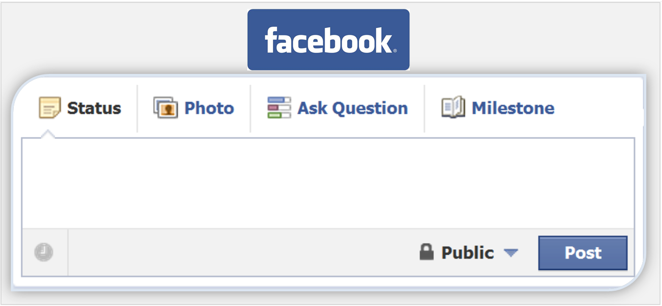 Update blank facebook status comment and message for Smart pic for facebook