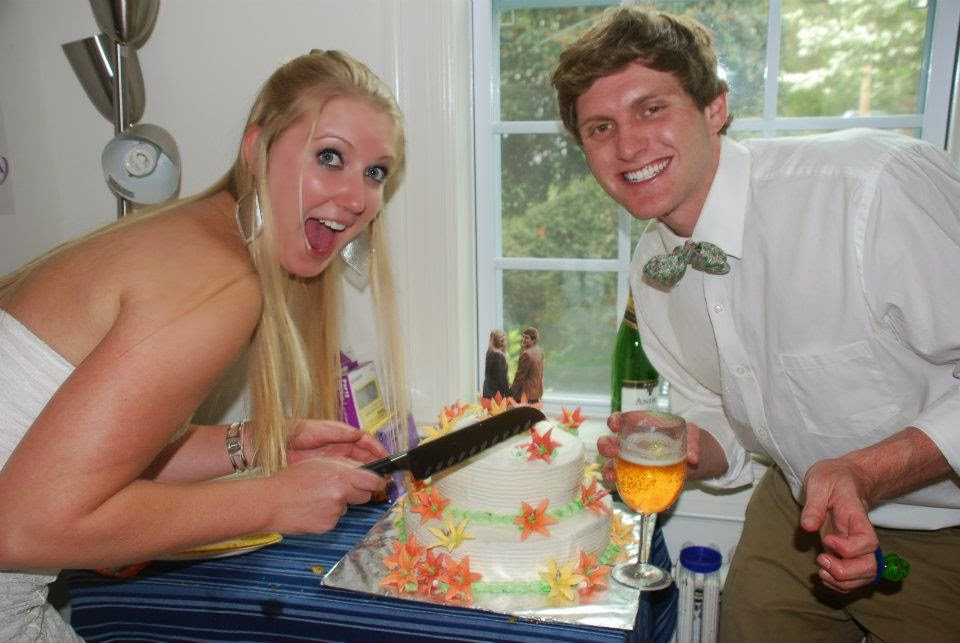 The Time My Friends Got Fake Married - The Cake