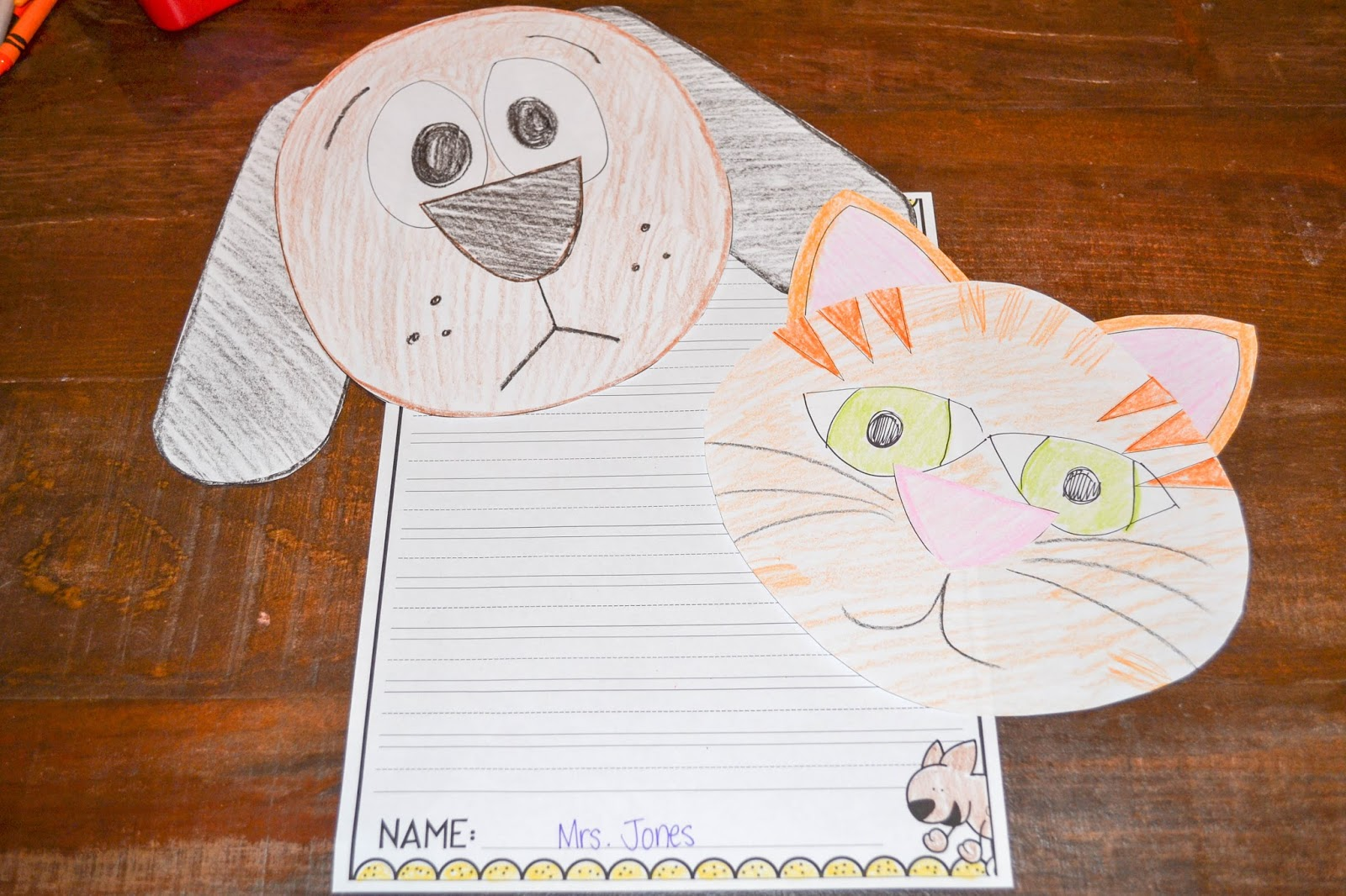 a creative writing about dogs and cats If your kids have a dog, writing prompts about canine tricks and a puppy business will fire up their creative writing crazy for cats.