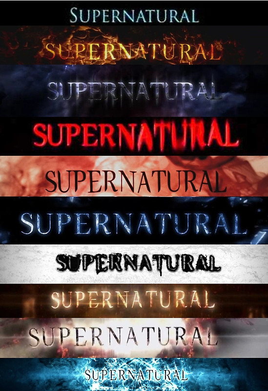 Superntural logos 1-10