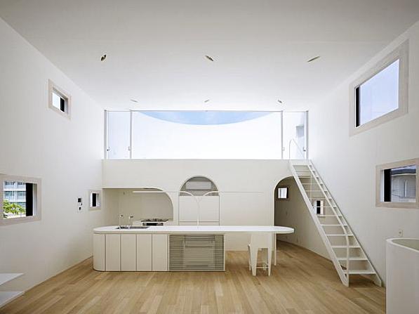 Interior Rumah Gaya Arsitektur Hunian Minimalis Di Jepang