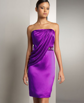 Summer Cocktail Dresses Purple