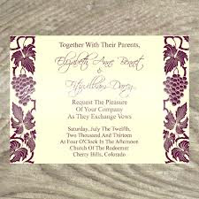 Wedding Invitation Wording Pictures