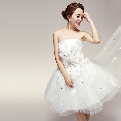 Cute Korean Wedding Dress; Cute wedding dress; cute wedding gown; small wedding dress; small wedding gown