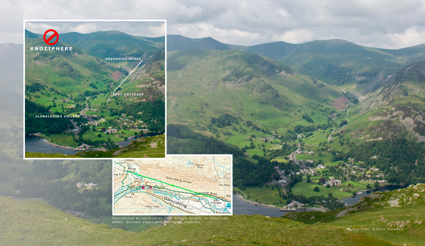 zip wire attraction glenridding