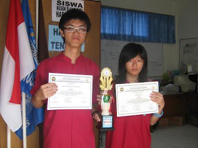 SMK Nusaputera 1 Juara III Lomba Puisi Mandarin Se-Jateng
