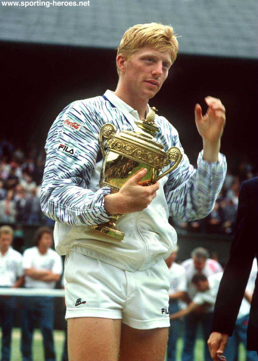 Sports star Boris Becker Profile Biography And