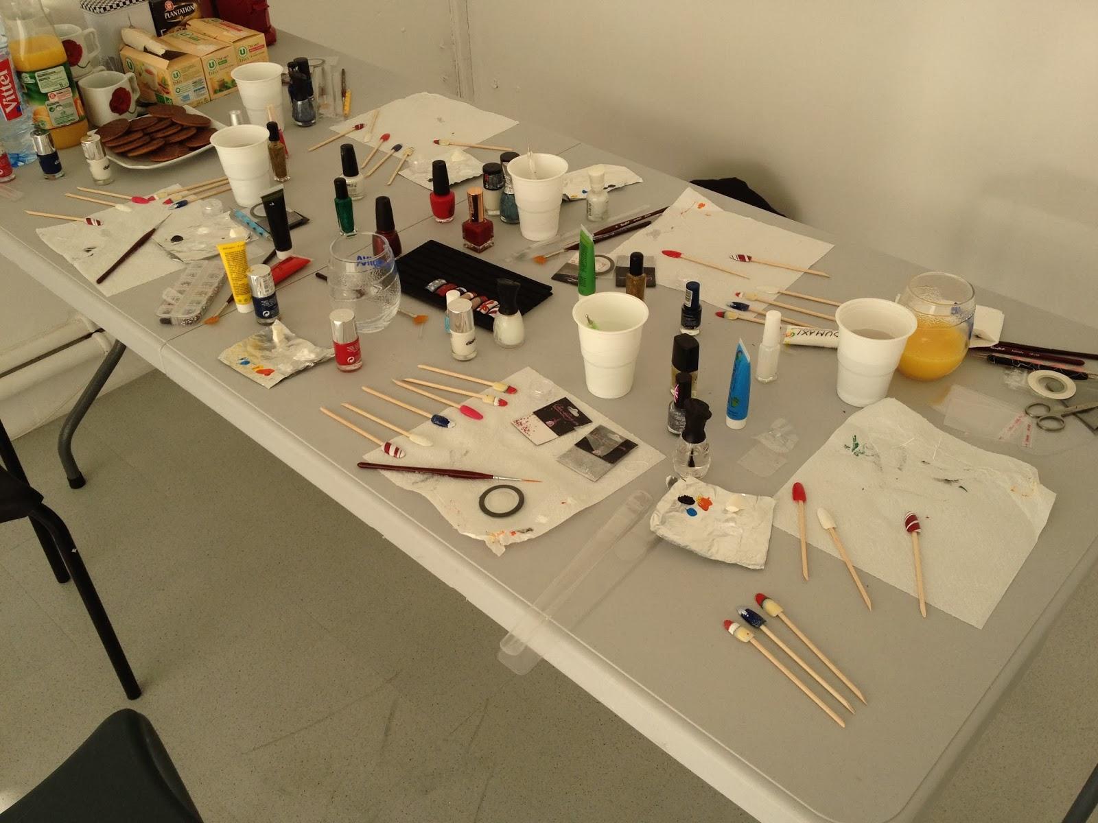 Ateliers nail art Décembre et Janvier2
