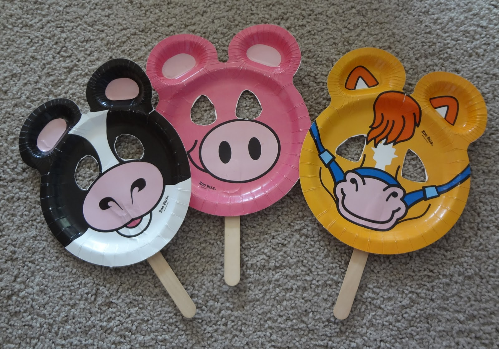 Zoo Pal Paper Plate Puppets & Time for Play: Zoo Pal Paper Plate Puppets