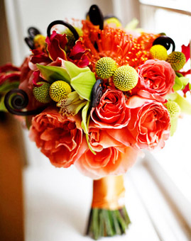Autumn Bridal Bouquets3