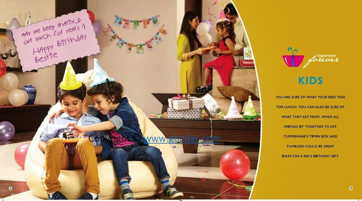 Tupperware - Good for Life !: Tupperware India September Flyer ~ 2nd