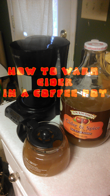 Apple Coffee Maker ~ My slightly crunchy life apple cider in the coffee maker