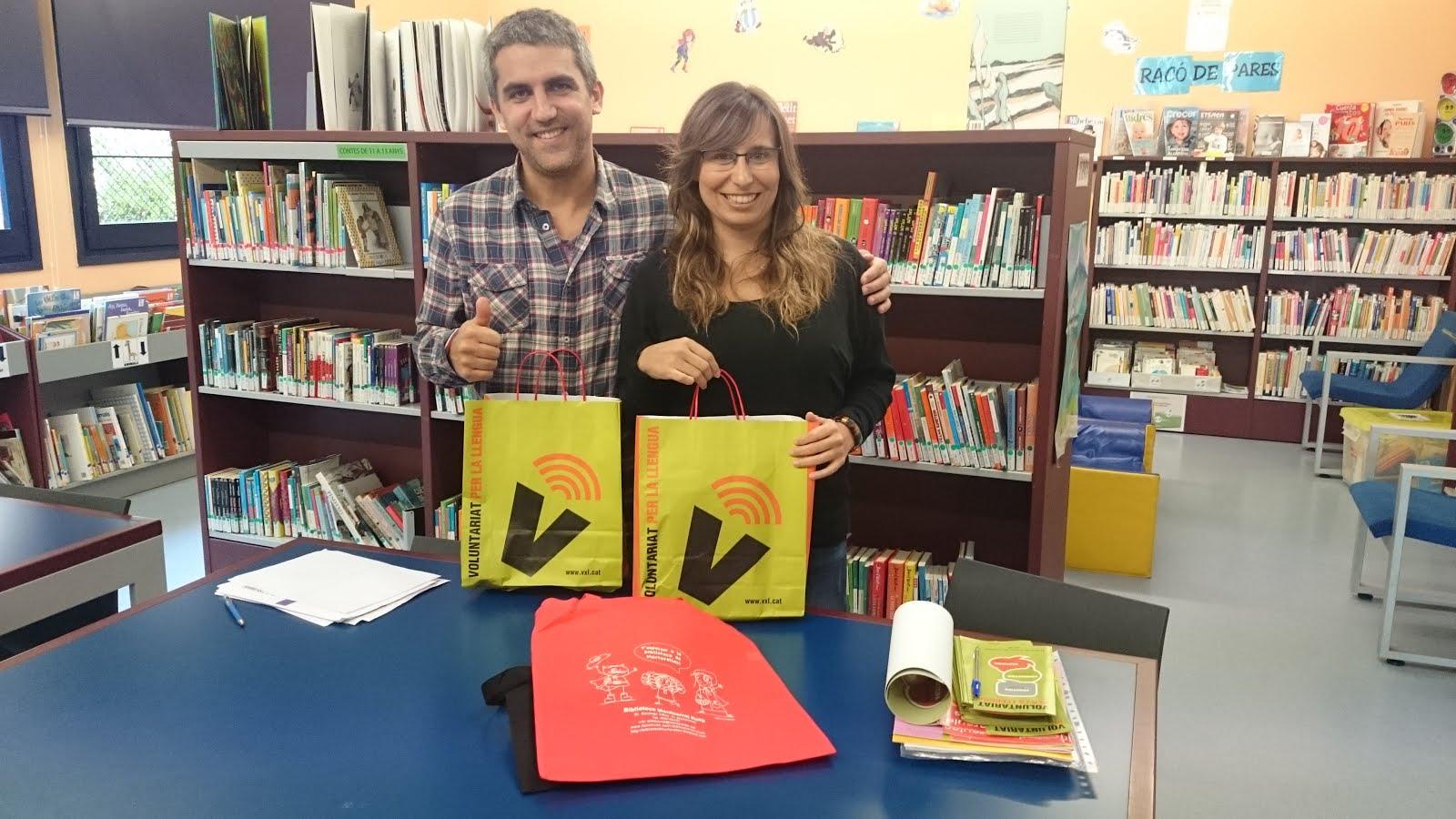 Voluntaris per la llengua a la biblioteca