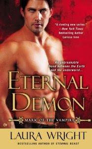 paranormal romance, cover, Demon
