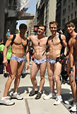 image of young muscle guys