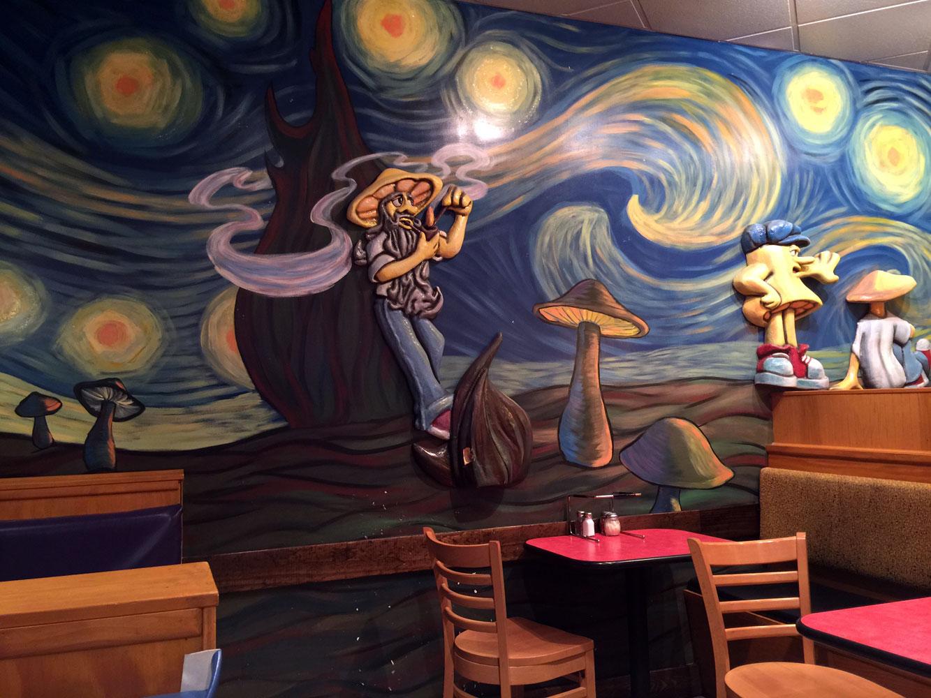 Independent Restaurant Review Mellow Mushroom Lavista Rd Near