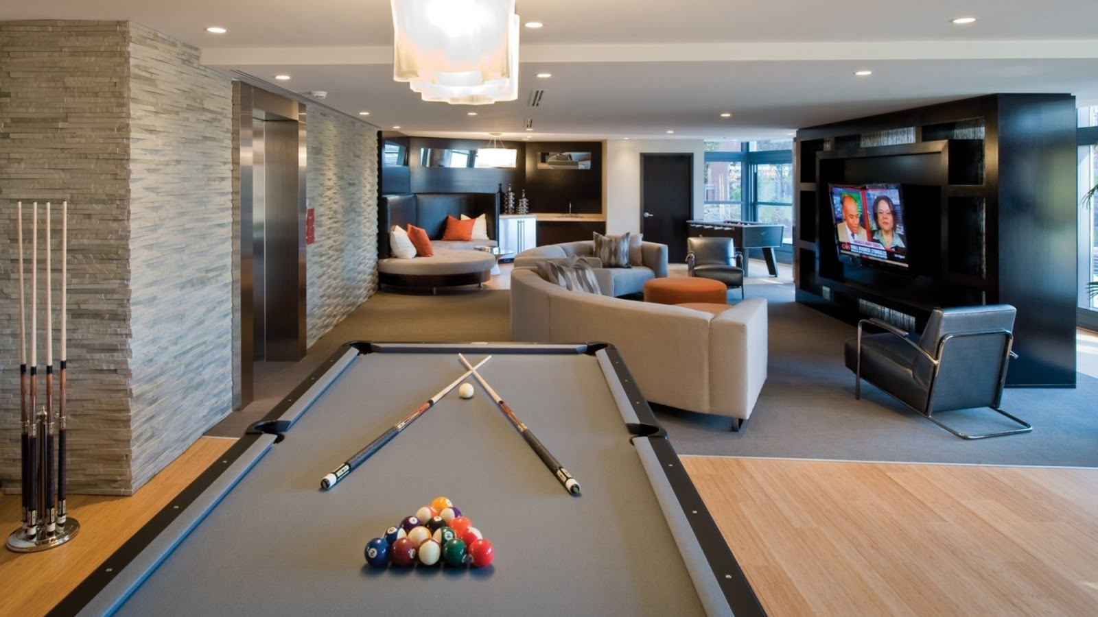 Design Interior Billiard Table