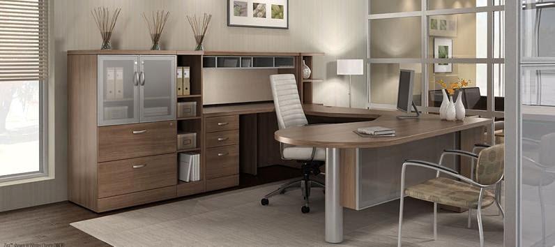 Zira Series Desking Configuration