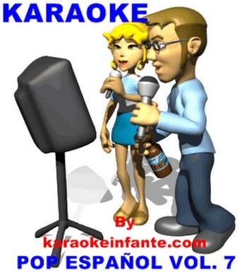 Karaoke – Pop Español VoL.7 CDG+MP3 320 Kbps