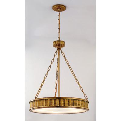 Round modern chandelier