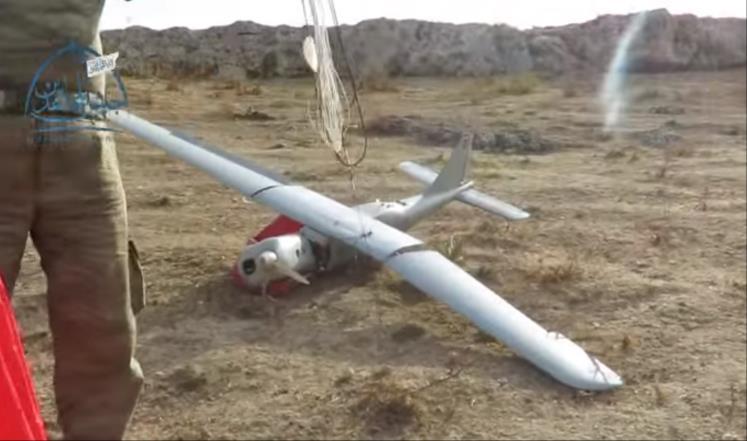 Mujahidin Aleppo Selatan Tembak Jatuh Drone Milik Rusia