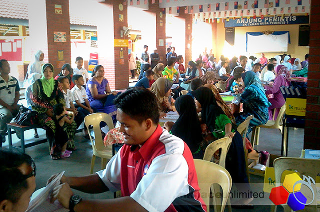 mknace unlimited | Hari terbuka SK Taman Nusa Perintis