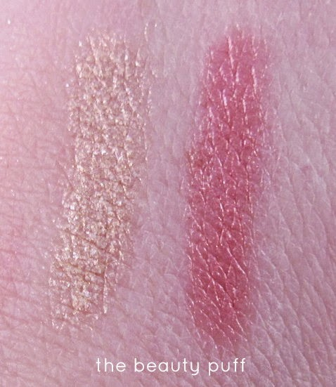 NewBeauty TestTube March 2015 swatches - the beauty puff