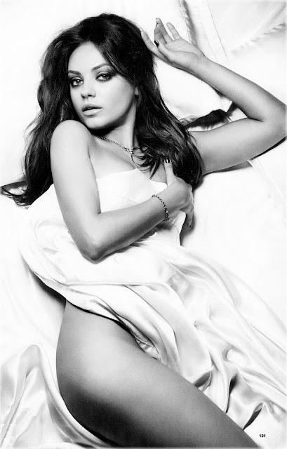 Mila Kunis la más sexy del planeta
