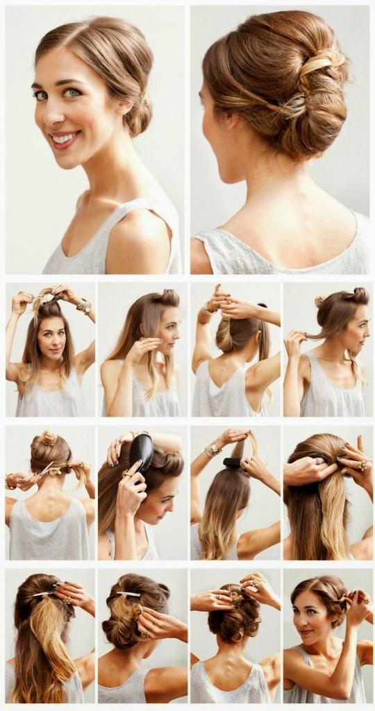 Peinados con tupé fáciles para mujer L