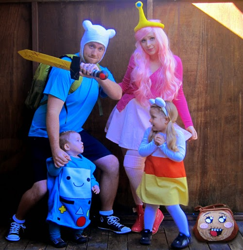 Adventure Time Halloween Costumes Kids and Parents