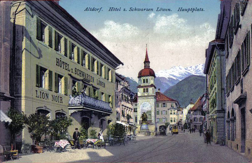 Альтдорф (Altdorf), Швейцария - путеводитель по городу, достопримечательности Альдорфа.