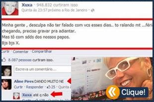Perolas Facebook - Xuxa Dando muito
