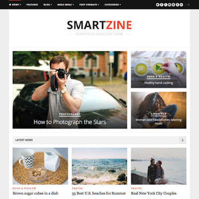 Free Download SmartZine Theme Junkie