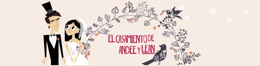 El casamiento de Andee y Lean