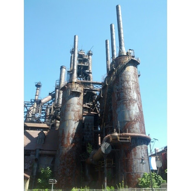 The Steel Stacks of Bethlehem Steel - Bethlehem, PA | Taste As You Go