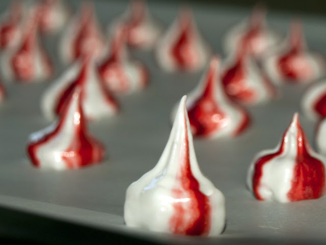 Strawberry Meringue Drops | Pavlova's Dog