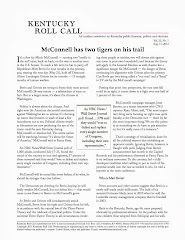 Kentucky Roll Call newsletter