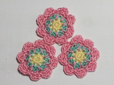 Flower Appliques for Craft Projects