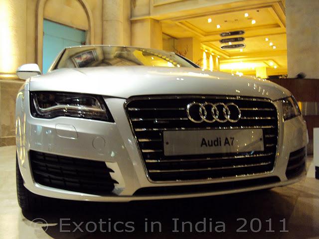 Exotics In India Audi A7 Represents Sport Executive Class