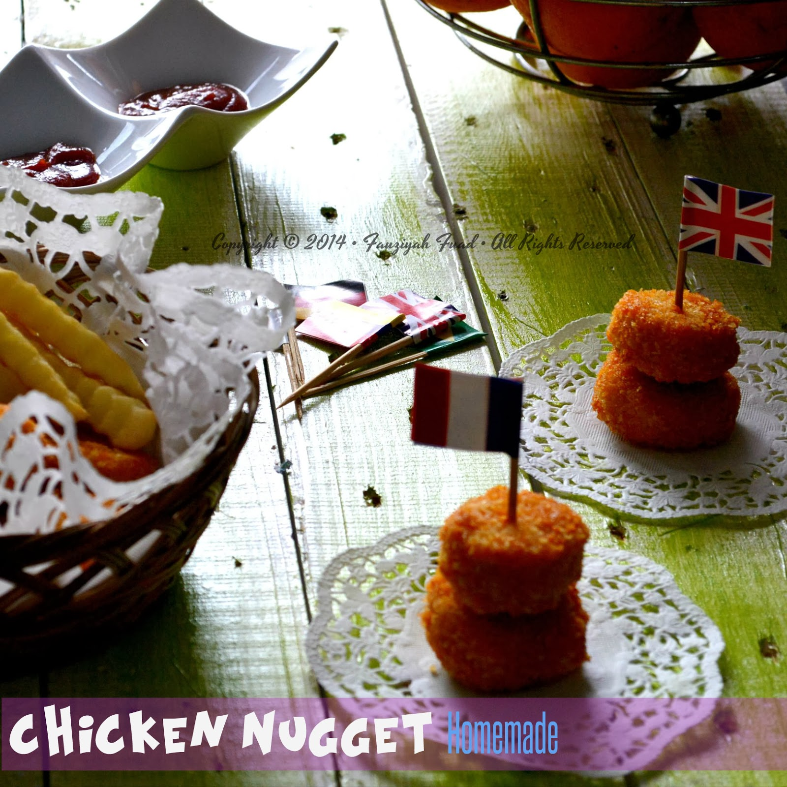 Nugget Adalah: From My Little Kitchen: Chicken Nugget [Homemade]